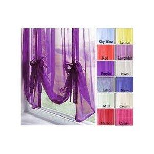 voile tie blinds 18 fantastic colours