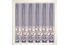 Salisbury Tyrone White Net Curtain