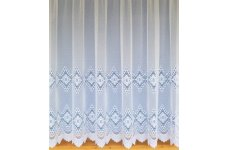 RUBY NET CURTAIN: priced per metre