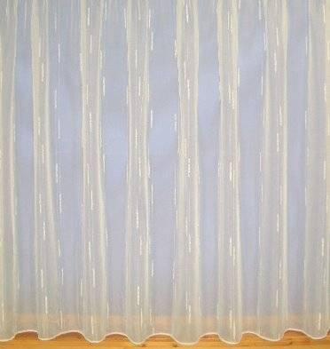 christine white voile net curtain