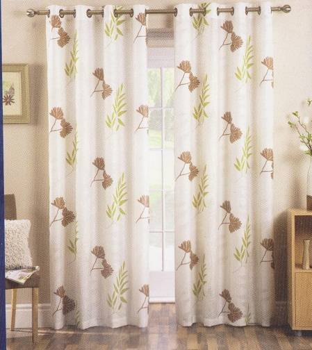 Ada Eyelet Dress Curtain In Voile Patio Door Curtains