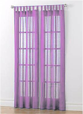 Baby Pink Tab Top Panels Clearance Net Curtain 2 Curtains
