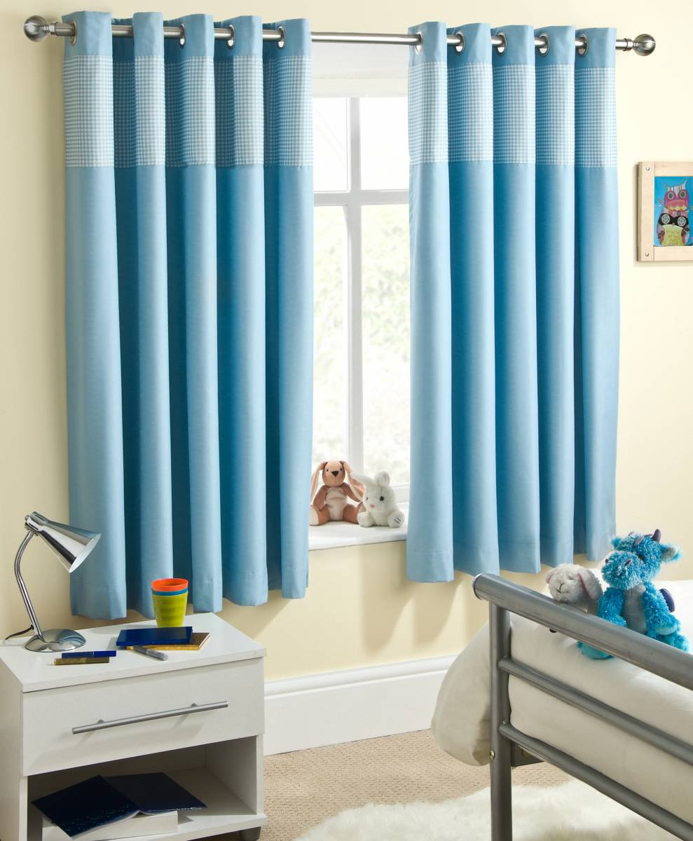 Boy Nursery Curtains Aqua Bedroom Curtains ~ dact.us
