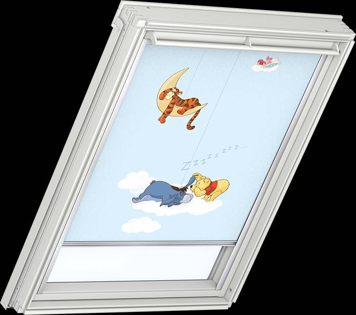 velux blind pooh 2 4610 contact us for free brochure or. Black Bedroom Furniture Sets. Home Design Ideas