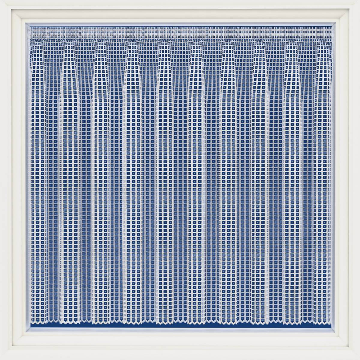 london white contemporary net curtain net curtain 2. Black Bedroom Furniture Sets. Home Design Ideas