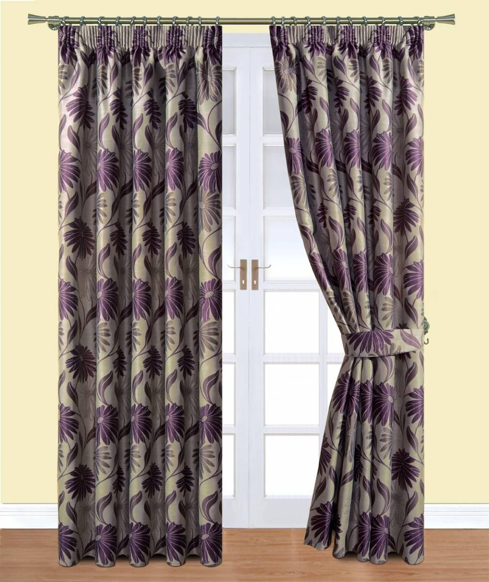 Davie Plum Belfield Curtains  Net Curtain 2 Curtains