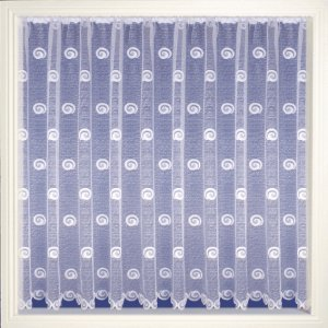 BUXTON WHITE NET CURTAIN
