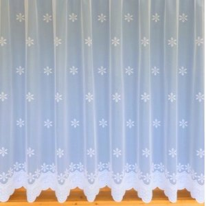 LISA WHITE NET CURTAIN