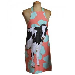 COW APRON BY LESLIE GERRY