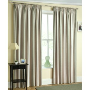 TWILIGHT GREEN THERMAL BLOCK OUT CURTAINS PRICED PER PAIR