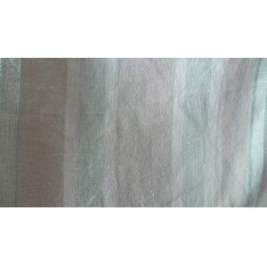 COTTON GREEN VERTICAL STRIPE FABRIC PRICE IS PER METRE