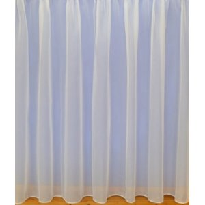 Montana cream voile with lead weighted base