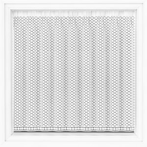 Carnaby white net curtain