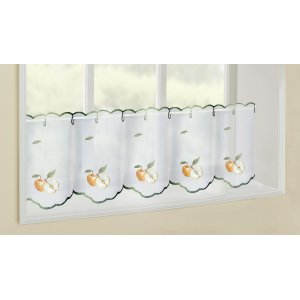 HEREFORD EMBROIDERED VOILE PANELS