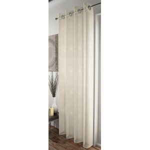 TELFORD CREAM & GOLD CURTAIN PANEL