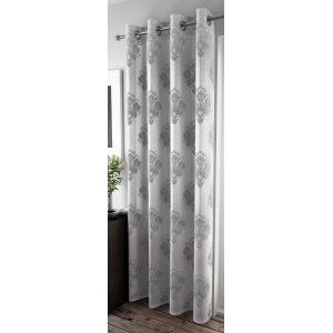 FR TREATED ROMSEY SILVER EYELET PANEL
