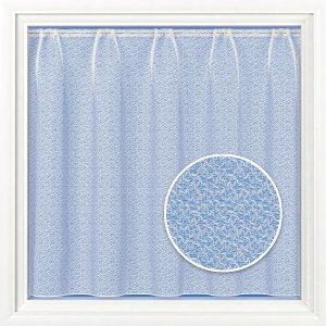 DORSET WHITE NET CURTAIN WITH LEAD WEIGHTED BASE