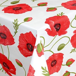 Poppy Pvc table covering 140cm wide