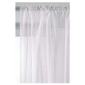 WHITE VOILE SLOT TOP PANEL