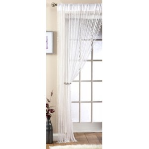 FAUX PEARL BEADED STRING CURTAIN
