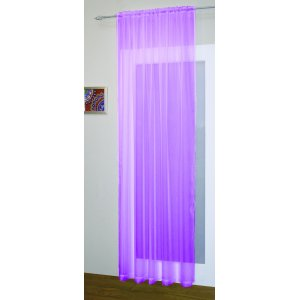 CRYSTAL  VOILE PANEL: all colours 150CM WIDE
