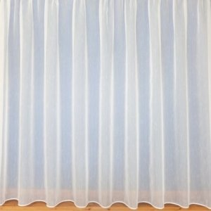 SULTAN NET CURTAIN:WHITE OR CREAM  priced per metre