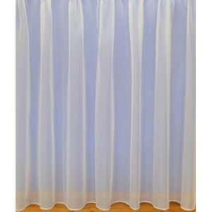 MONTANA VOILE NET CURTAIN:WHITE OR CREAM priced per metre