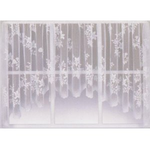 EVESHAM JARDINIERE: priced per curtain discontinued design limited stock available