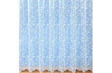 EVIE WHITE  NET CURTAIN: price per metre