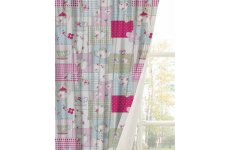 TEATIME READY MADE CURTAINS PENCIL PLEAT