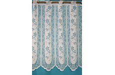 TRIXIE WHITE CAFE  NET CURTAIN