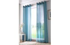 TEAL RINGTOP VOILE PANELS PRICE IS PER PANEL