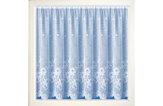 LAGOS WHITE NET CURTAIN: priced per metre