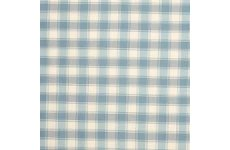 GINGHAM DUCK EGG PVC TABLE COVERING SOLD BY THE METRE
