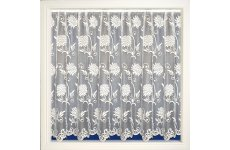MELINDA  WHITE NET CURTAIN SOLD BY THE METRE
