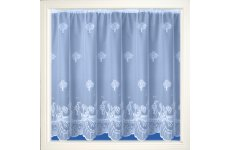 LADY JANE PICTORIAL WHITE NET CURTAIN