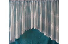 ANTONIA WHITE  EMBROIDERED VOILE JARDINIERE