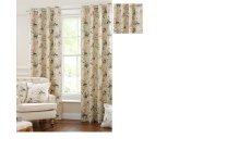HARRIET 100% COTTON CURTAINS CUSTOM MADE NON RETURNABLE