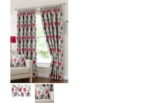SCARBOROUGH HEAVY CHENILLE FULLY LINED CURTAINS