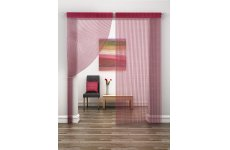 DAZZLE RED STRING CURTAIN PRICE IS PER PANEL 230CM DROP X 95CM WIDE