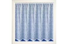 Carlisle white net curtain