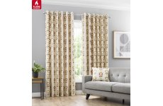 Tivoli fire retardant eyelet top curtains