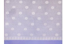DAISY WHITE  NET CURTAIN:priced per metre