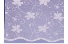 BAHAMAS WHITE NET CURTAIN: priced per metre limited stock available
