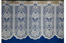 SICILY POLISHED YARN  CAFE CURTAIN:priced per metre