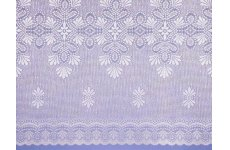 OSLO WHITE  NET CURTAIN: priced per metre discontinued limited stock available