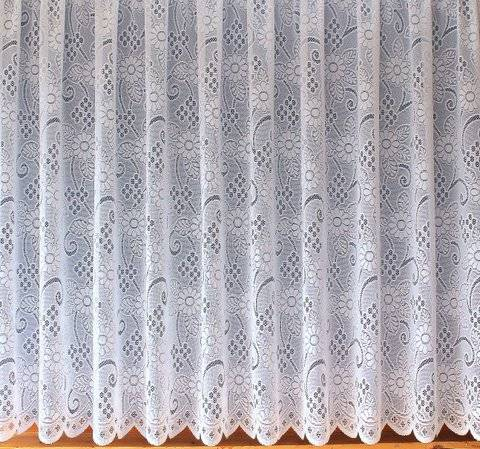 WHITE ALLOVER LACE DESIGN LADY JAYNE WHITE NET CURTAIN INSPIRED BY  NOTTINGHAM LACE