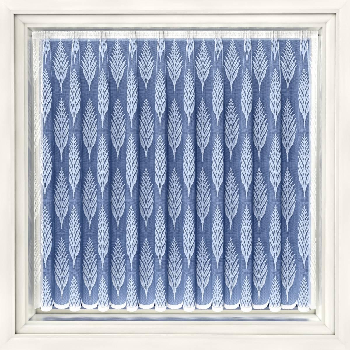 modern leaf white net curtain net curtain 2 curtains. Black Bedroom Furniture Sets. Home Design Ideas