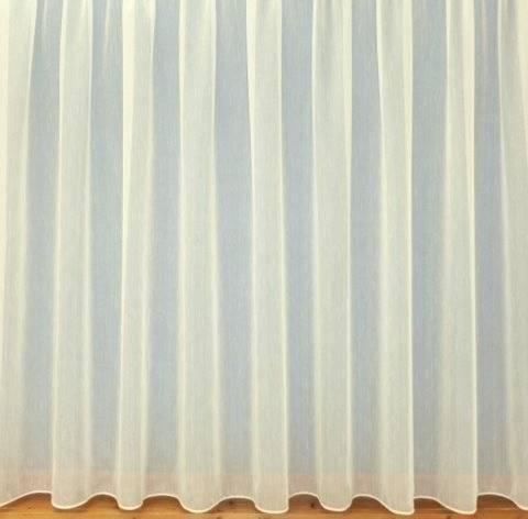Fire Retardant Sultan CREAM textured white voile - Net Curtain 2 ...
