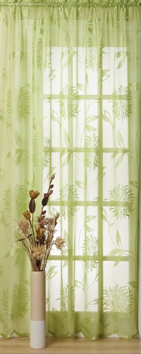 Bridget Apple Green Curtain Panel Discontinued Net